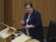Jackie Baillie called for answers from the Scottish Government (Fraser Bremner/Daily Mail/PA)