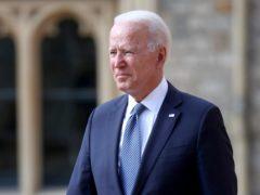 Joe Biden has been trying to move things on in the Harry Dunn case, Boris Johnson said (Chris Jackson/PA)