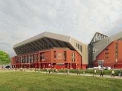 Plans to increase the capacity of Anfield to more than 61,000 will begin in earnest next week (Liverpool FC/PA handout)