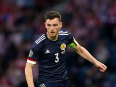 Scotland's Andrew Robertson is looking for World Cup qualifying points (Andrew Milligan/PA)