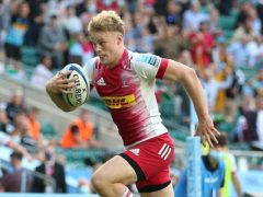 Harlequins' Louis Lynagh has ben called up for England's training camp (Nigel French/PA)