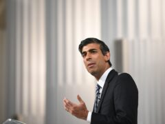 Chancellor Rishi Sunak said the Treasury acted 'entirely appropriately in relation to Greensill' (Stefan Rousseau/PA)