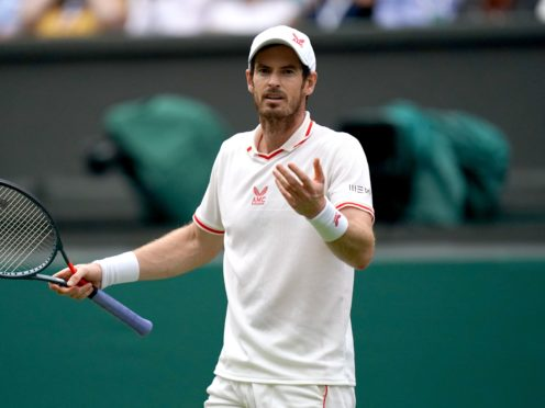 Andy Murray lost his second-round match at the Open de Rennes (Adam Davy/PA)