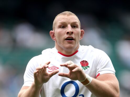 England's Sam Underhill is among rugby stars to have featured in a video encouraging young people to be vaccinated against the coronavirus (David Davies/PA)