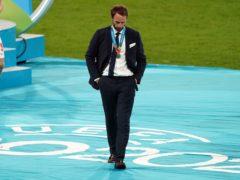 Gareth Southgate's side were beaten in the Euro 2020 final (Mike Egerton/PA)
