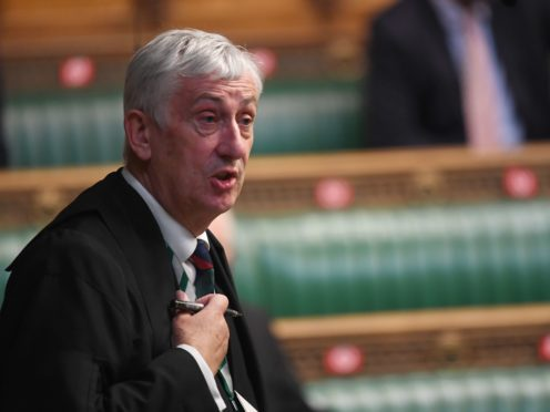 Commons Speaker Sir Lindsay Hoyle has risked angering Beijing (Jessica Taylor/PA)