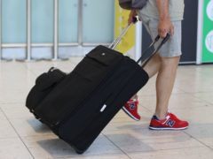 No date has been set for the removal of PCR testing for fully vaccinated travellers, Transport Secretary Grant Shapps said (Liam McBurney/PA)