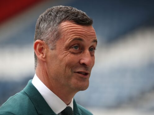 Jack Ross is looking forward to going back to Hampden (Andrew Milligan/PA)