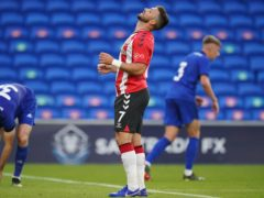Southampton striker Shane Long is unavailable for the visit of West Ham after a positive Covid test (Nick Potts/PA)