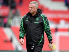 Michael O'Neill admitted his Stoke side were below-par (Anthony Devlin/PA)