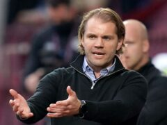 Hearts manager Robbie Neilson (Jane Barlow/PA)