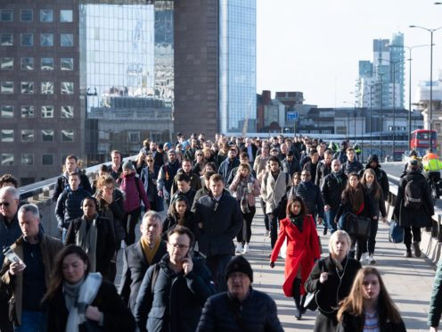 Close to 12 million jobs were supported by the furlough scheme at some point during the pandemic. (Dominic Lipinski/PA)