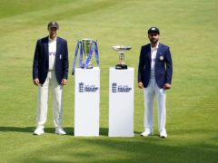 India captain Virat Kohli (right) and England counterpart Joe Root could face each other again next year if the fifth Test is rescheduled (Zac Goodwin/PA)
