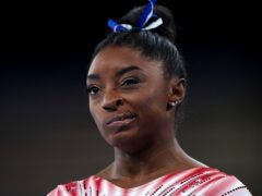 American gymnast Simone Biles has struggled with her mental health (Mike Egerton/PA)