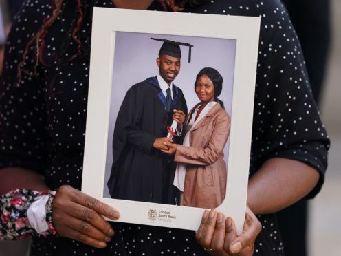 NHS worker David Gomoh's killers were sentenced at the Old Bailey (Kirsty O'Connor/PA)