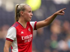 Beth Mead handed Arsenal a winning start to the WSL campaign with a brace against Chelsea (John Walton/PA)