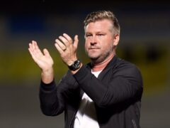 Karl Robinson saw his team bounce back to winning ways in style (Jacob King/PA)