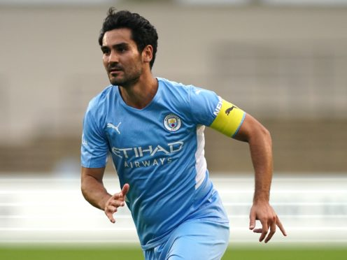 Ilkay Gundogan picked up an injury in Manchester City's Premier League draw with Southampton on Saturday (Nick Potts/PA)