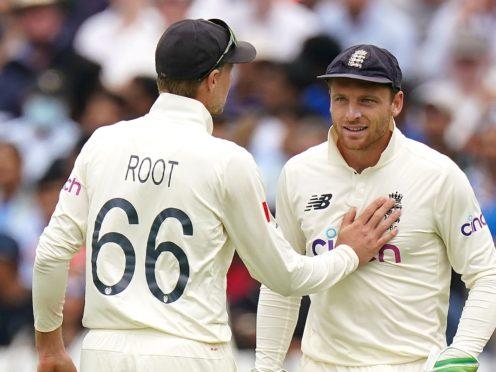 Jos Buttler, right, will make an immediate return for England (Zac Goodwin/PA)