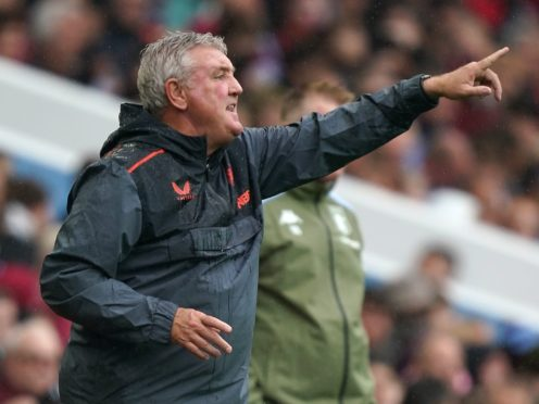 Newcastle head coach Steve Bruce is refusing to walk away from his task (David Davies/PA)