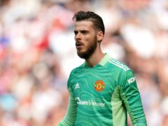David De Gea is happy to have Cristiano Ronaldo back at Manchester United (Andrew Matthews/PA)
