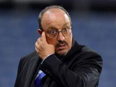 Rafael Benitez's Everton lost 8-7 on penalties at QPR following a 2-2 draw (Anthony Devlin/PA).