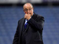 Rafael Benitez said Everton were not good enough (Anthony Devlin/PA)