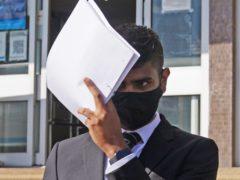 Javed Saumtally at Hove Crown Court (Yui Mok/PA)