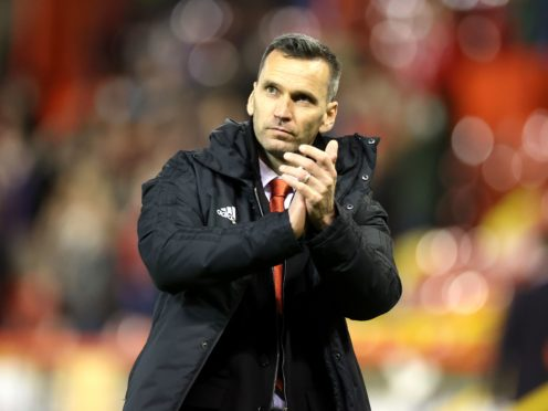 Aberdeen manager Stephen Glass will not ring the changes (Steve Welsh/PA)