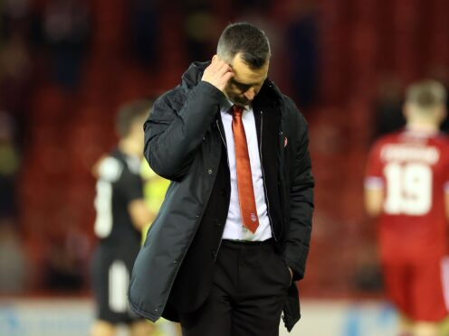 Stephen Glass' side are in poor form (Steve Welsh/PA)