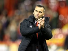 Aberdeen manager Stephen Glass is staying positive (PA)
