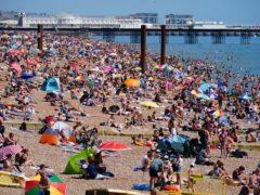 Temperatures will reach highs of 28C next week (Victoria Jones/PA)