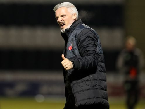 Jim Goodwin was impressed with his new signings' impact (Andrew Milligan/PA)