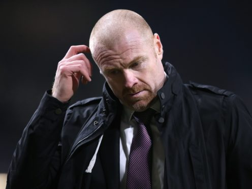 Sean Dyche will be without a number of players for the visit of Rochdale on Tuesday (Alex Pantling/PA)