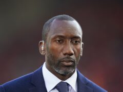 Jimmy Floyd Hasselbaink was delighted with the performance of his side (Mike Egerton/PA)