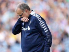 Marcelo Bielsa has plenty to ponder for Saturday's visit of West Ham (Richard Sellers/PA)