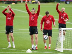 Skipper Gareth Bale (centre) and his Wales teammates resume their World Cup qualifying campaign against Belarus on Sunday (David Davies/PA)