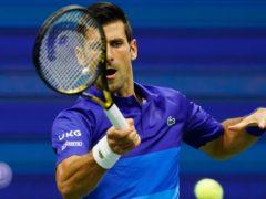 Novak Djokovic is into round two (Frank Franklin II/AP)