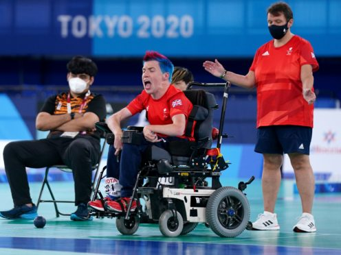 David Smith retained his Paralympic boccia title (Tim Goode/PA)