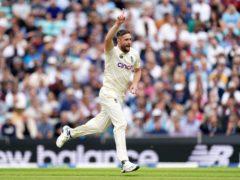 Chris Woakes made an impressive return to the England Test team (Adam Davy/PA).