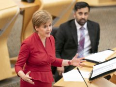 First Minister Nicola Sturgeon deemed the comment 'unacceptable' (Jane Barlow/PA)