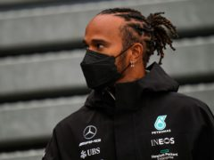 Lewis Hamilton finished fastest in the first running of the weekend (Francisco Seco/AP)