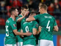 Northern Ireland will be back in action with a friendly against Estonia on Sunday evening (Mindaugas Kulbis/AP)