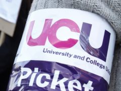 Universities could face potential strike action if they misuse recorded lectures and withhold performance rights from staff, the UCU union has warned (PA)