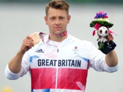 Great Britain's Robert Oliver claimed a bronze medal in Tokyo (John Walton/PA)