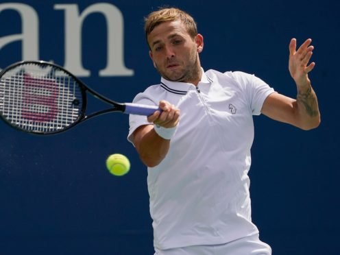 Dan Evans staged a superb comeback to reach the fourth round in New York (John Minchillo/AP)