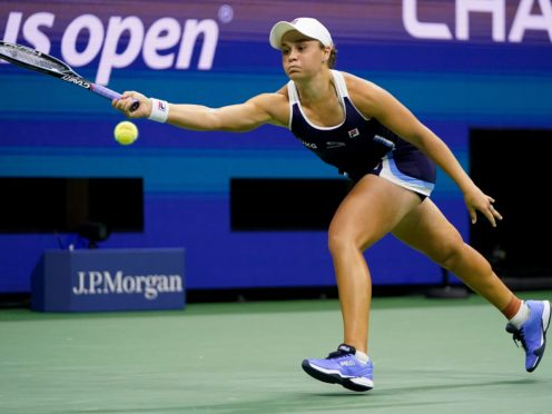 Ash Barty's six months on the road ended with defeat in the US Open (Frank Franklin II/AP)