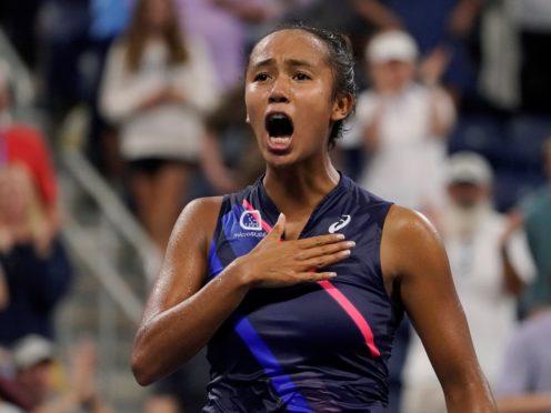Leylah Fernandez was at it again at the US Open (John Minchillo/AP)