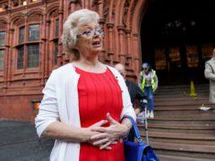 Julie Hambleton at Birmingham Magistrates' Court (Jacob King/PA)