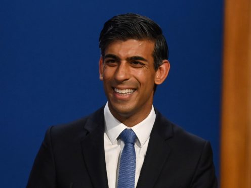 Chancellor Rishi Sunak brought financial schemes in to help people and businesses during the pandemic (Toby Melville/PA)